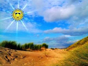 Laat de zon weer in je leven schijnen!
